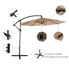 Patio Umbrella Weights by The Best Offset Patio Umbrella
