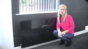 radiator art toughened glass radiator cover youtube
