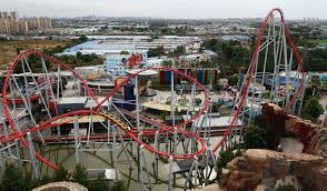 Six Flags Magic Mountain Fire Coastersandmore De Achterbahn Magazin Achterbahnneuheiten Und