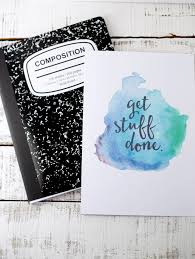 Notebook Cover Decoration Free Printable Watercolor Notebook Covers Eighteen25