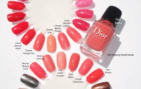 coral nail polishes for spring and summer the beauty look book