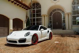 porsche turbo wheels black white porsche 911 turbo s adv7 track spec cs series wheels