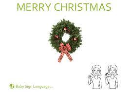 merry christmas flash card