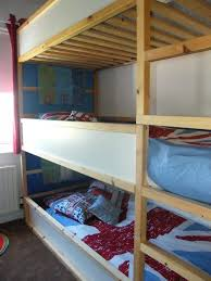 Bunk Bed For Toddlers Saving Space And Staying Stylish With Triple Bunk Beds