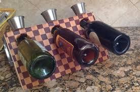 stoverink mulholland handcrafted magnetic floating wine rack end gra