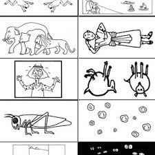 the picture of 10 plagues of egypt coloring page coloring sun