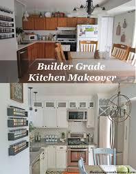 kitchen makeover reveal u0026 a giveaway builder grade kitchen
