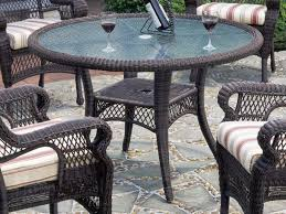Patio Furniture Round Wicker Patio Table Small U2013 Outdoor Decorations