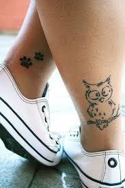 Lower Leg Tattoo Ideas 39 Awesome Small Owl Tattoo Ideas For You