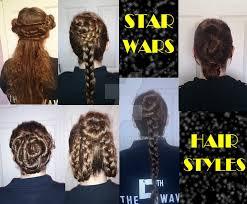 star wars hair styles star wars hairstyles by xandraclay on deviantart