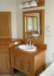 craftsman style cherry vanity and mirror u2013 timothy u0027s fine woodworking
