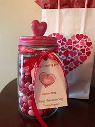 s day m m s valentines day jars filled with valentines for teachers