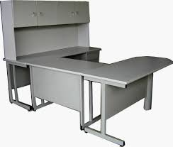 U Shaped Computer Desk With Hutch by Afford Office Line Limited Workstations