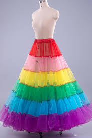 colorful dance pageant dresses petticoat cheap in stock wedding