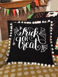 i sew stuff halloween throw pillow cover with heat transfer vinyl