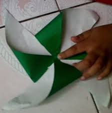 cara membuat origami kincir angin clarissa putri riandani computer kids cara membuat kincir angin