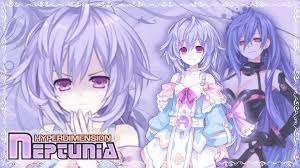 wallpaper choujigen game neptune hyperdimension neptunia plutia pururut by chirunochi on deviantart