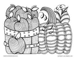 thanksgiving detailed coloring pages coloring