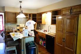 How To Update Kitchen Cabinets Factory Finish Kitchen Cabinet Painting In Kansas City Elite
