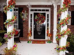 front porch christmas decorations decoration amazing front porch christmas decorations with