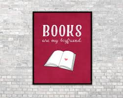 book lover gift book print introvert by hairbrainedschemes on etsy