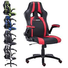 Race Car Office Chair Gtforce Roadster 2 Sport Racing Car Office Chair Leather