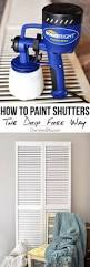 Spray Paint Vinyl Shutters - how to clean prep and paint vinyl shutters vinyl shutters