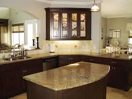 How To Reface Kitchen Cabinet Doors by Wonderful Kitchen Cabinet Color Ideas Simple Refinished Kitchen