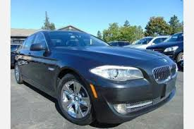 bmw 5 series offers used 2013 bmw 5 series for sale pricing features edmunds