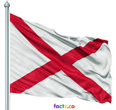 Facts About Georgia State Flag Alabama Flag Colors Meaning About Alabama Flag Info