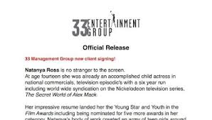 Sample Child Actor Resume by Child Actress Resume