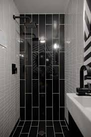 black tile bathroom ideas extremely ideas black bathroom tiles downstairs toilet