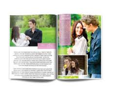 magazine wedding programs unique program etsy