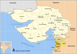 India On Map by Travel India