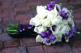 Violet Wedding Flowers - summer wedding flowers cherry marry