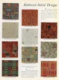Retro Linoleum Floor Patterns by Patterned Linoleum Tile Floor U2014 Crafthubs Vintage Linoleum