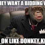 Chimp Meme - business chimp meme generator imgflip