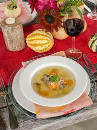 fall garden vegetable soup recipe hgtv