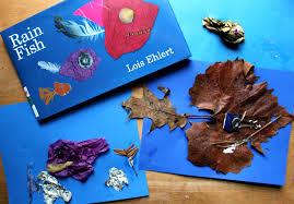 rain fish rainy day play repurposed art sturdy for common things