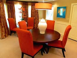 leighton dining room set dining chairs burnt orange dining chairs leighton orange fabric