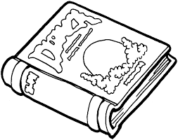 book coloring pages coloringsuite