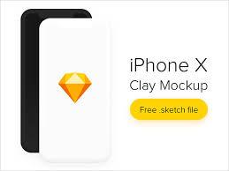 70 free apple iphone x sketch u0026 psd mockup templates