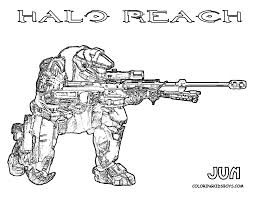 printing halo pictures  Halo Reach Coloring  Free Halo Reach