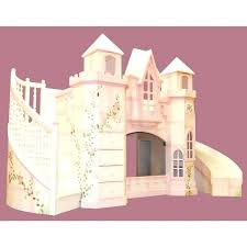 Princess Bunk Bed With Slide Princess Castle Bunk Bed Keepassa Co