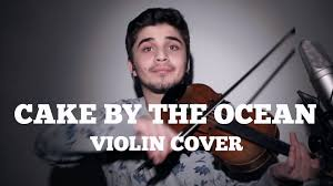 cake by the ocean dnce violin cover youtube