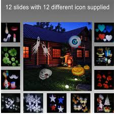 1x led outdoor projector light halloween christmas led projectors