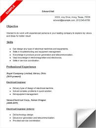Sample Electronics Engineer Resume by Electrical Engineer Resume Sample Resume Examples Pinterest