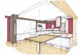 dessiner une cuisine en perspective cuisine perspective dessin cuisine cuisine design et