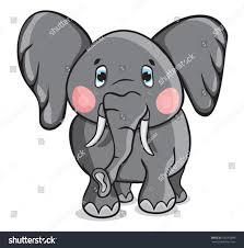 cute cartoon elephant stock vector 100263896 shutterstock