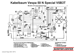 wiring loom oem quality vespa v50 special v5b3t models with